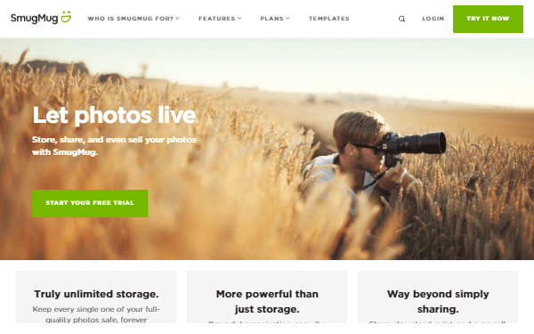 SmugMug - Platform to Protect, Share, Store and Sell Your Photo