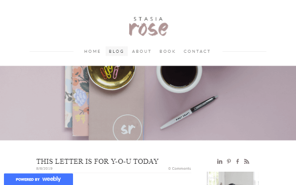 Stasia Rose Blog