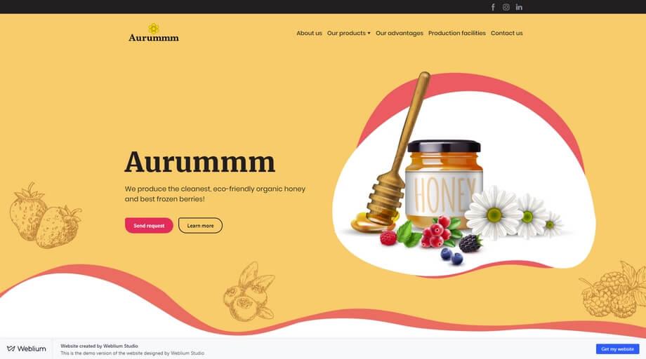 Small Company Website
