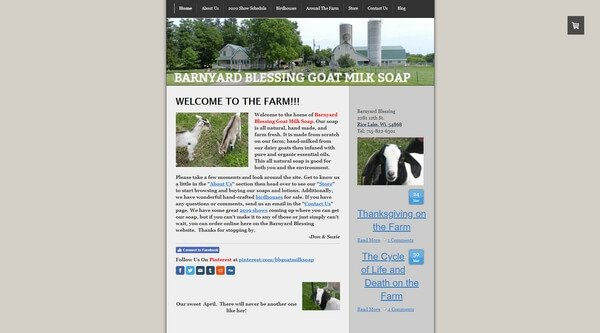 Barnyard Blessing Goat Milk Soap