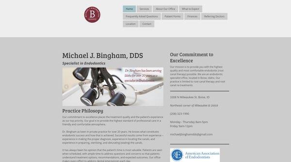 Michael J.Bingham DDS