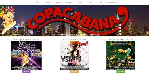 The Copacabana Night Club
