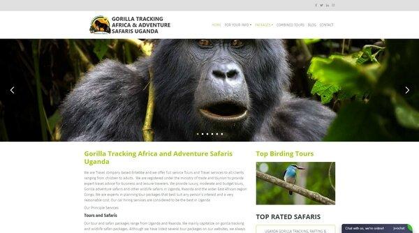 Gorilla Tracking Africa & Adventure Safaris Uganda