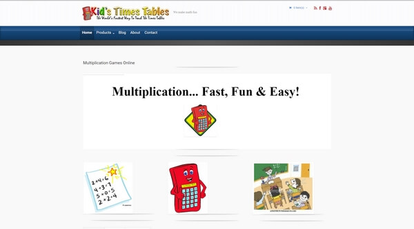 Kid's Times Tables