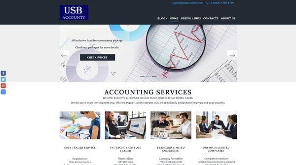 USB Accounts