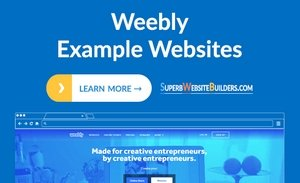 Weebly Example Websites