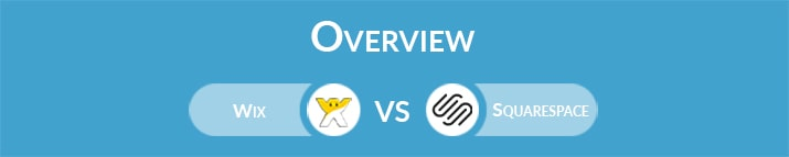 Wix vs Squarespace: General Overview