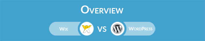 Wix vs WordPress: General Overview