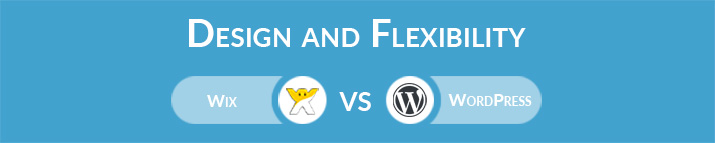 Wix vs WordPress: Design and Flexibility