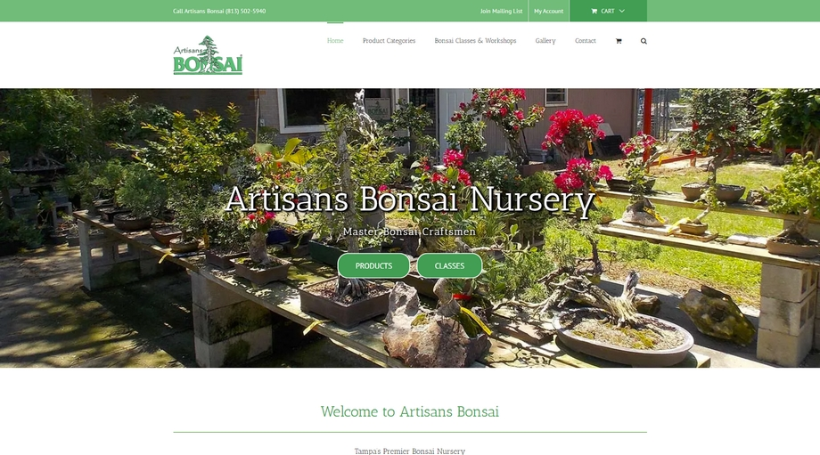 Artisans Bonsai Nursery