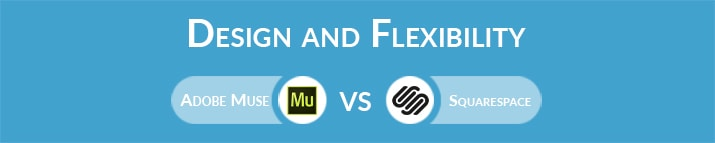 Adobe Muse vs Squarespace: Design and Flexibility