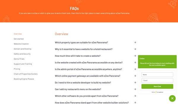 eZee FAQs