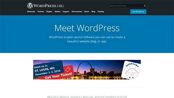 WordPress - The Best Hosted Platform (CMS) for Website or Online Store