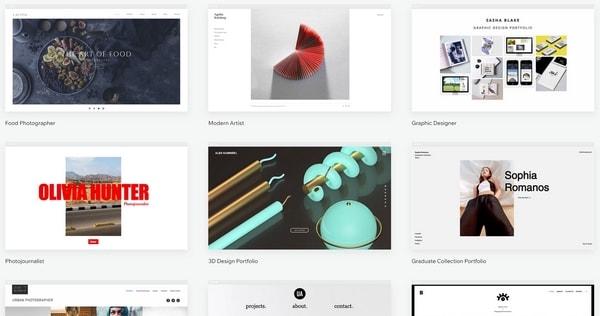 Wix Portfolio Website Templates