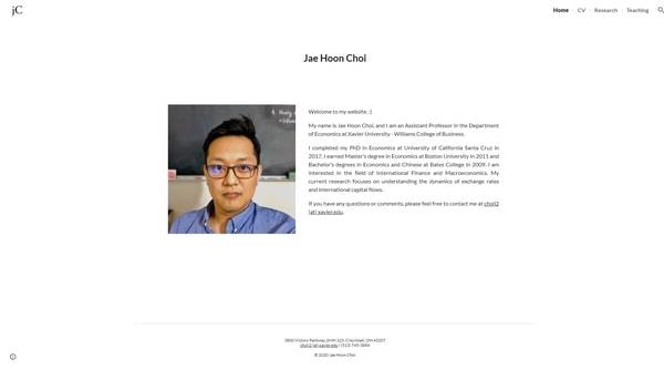 7. Jae Hoon Choi