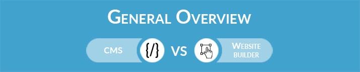CMS vs Website Builder: General Overview