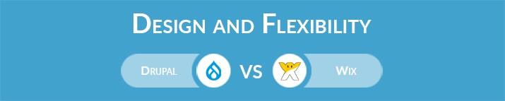 Drupal vs Wix: Design and Flexibility