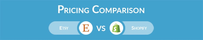 Etsy vs Shopify: General Pricing Comparison