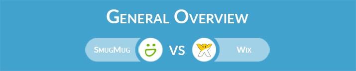 SmugMug vs Wix: General Overview