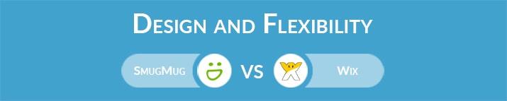SmugMug vs Wix: Design and Flexibility