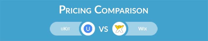 uKit vs Wix: General Pricing Comparison