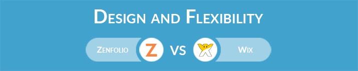 Zenfolio vs Wix: Design and Flexibility