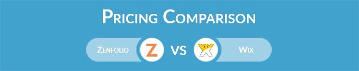 Zenfolio vs Wix: General Pricing Comparison