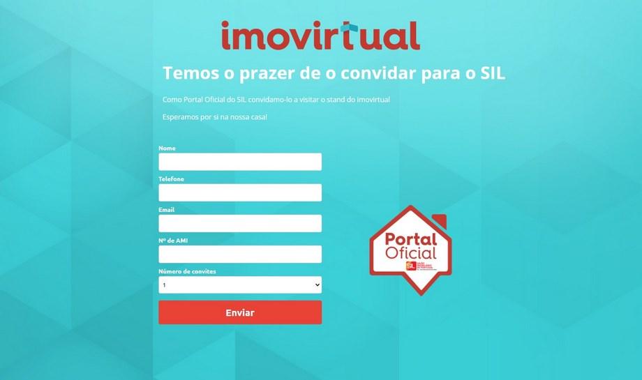 Imovirtual - a custom-built registration form
