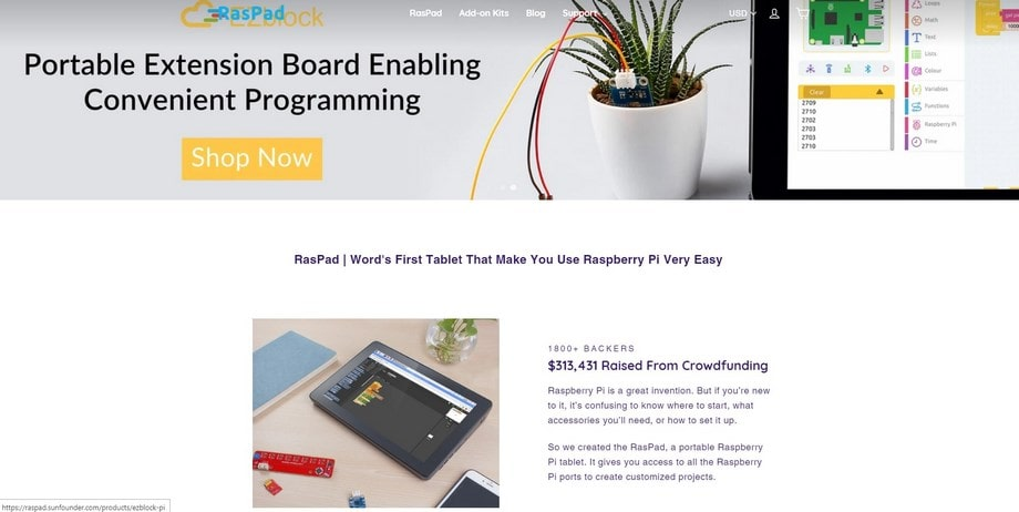 Raspad - a tablet for Raspberry PI OS
