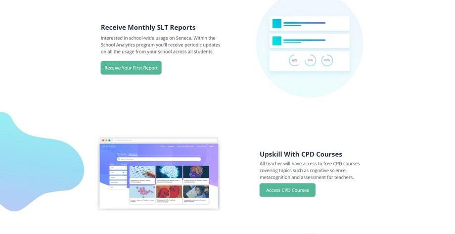 Seneca School Analytics - business reporting and analysis tools