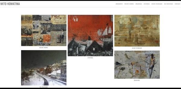 Komatina Mito – etchings and drawings