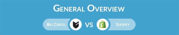 Big Cartel vs Shopify: General Overview