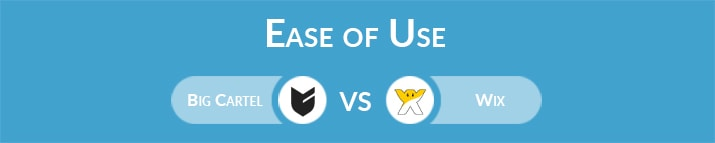 Big Cartel vs Wix: Which One Is Easier to Use?