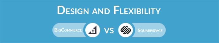 BigCommerce vs Squarespace: Design and Flexibility