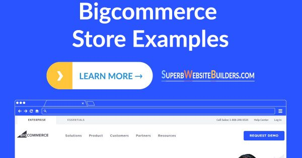 Bigcommerce Online Store Examples