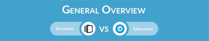 Instapage vs Unbounce: General Overview
