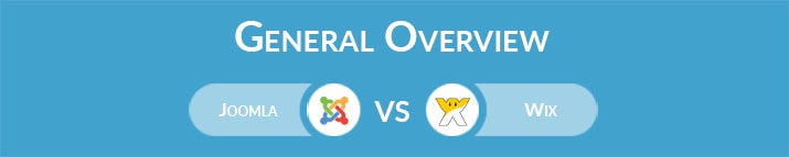 Joomla vs Wix: General Overview