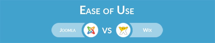 Joomla vs Wix: Which One is Easier to Use?