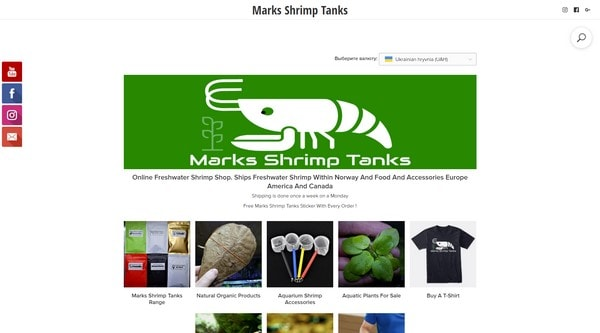 Marks Shrimp Tanks