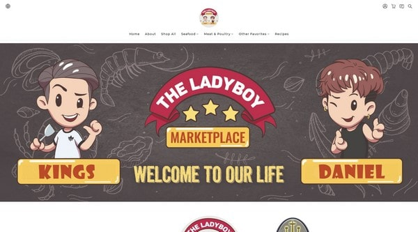 The Ladyboy Marketplace