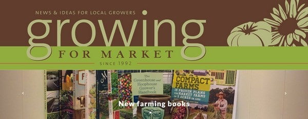 Growing for Market – flowering and farming books