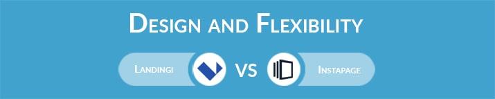 Landingi vs Instapage: Design and Flexibility