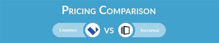 Landingi vs Instapage: General Pricing Comparison