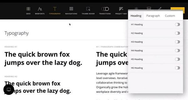 Semplice typografy