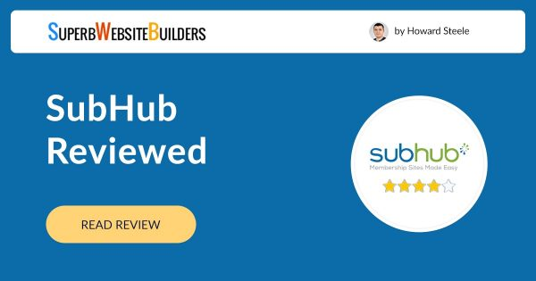 SubHub Website Builder Review