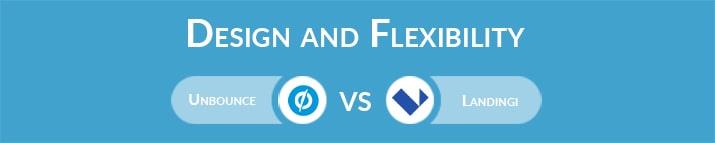 Unbounce vs Landingi: Design and Flexibility
