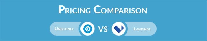 Unbounce vs Landingi: General Pricing Comparison