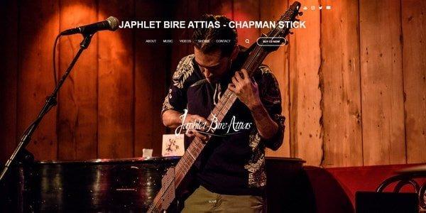 Japhlet Bire Attias – a musician website