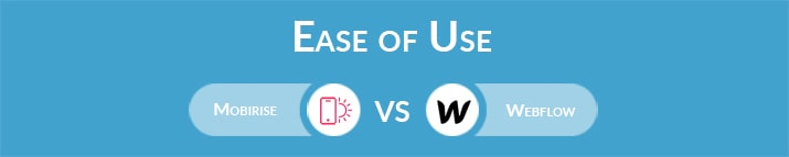 Mobirise vs Webflow: Which One Is Easier to Use?