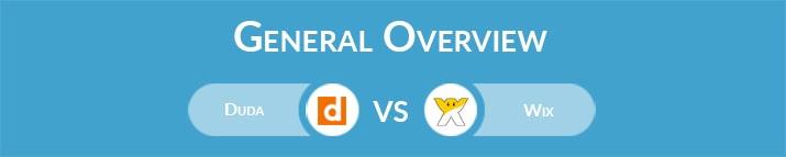 Duda vs Wix: General Overview